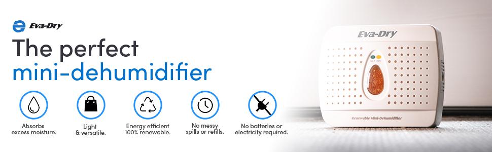 E-333 Mini-Dehumidifier, moisture absorber
