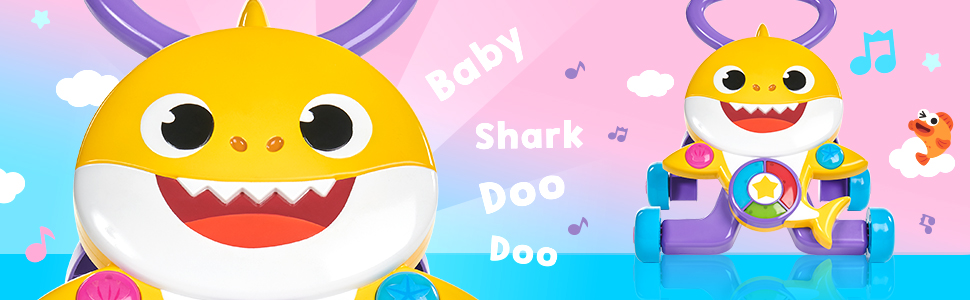 Baby Shark Melody Walker perfect for helping little ones learn to walk