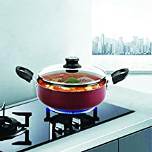 Prepare & Toss your veggies in non-stick cookware set from cello