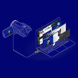elgato Cam Link - Capturadora HDMI compacta para streaming en ...