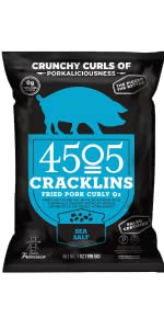 4505 pork rinds pig skins humanely raised happy pigs keto friendly low carb gluten free non gmo