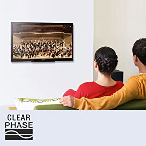 Clear Phase provides Clearer, More Natural Sound