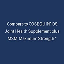Compare to COSEQUIN DS Joint Health supplement, a registered trademark of Nutramax Laboratories