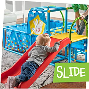 slide:  gym, play, NSG