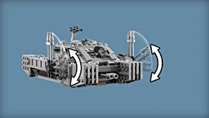 Rotating and elevating turret gun with dual shooters