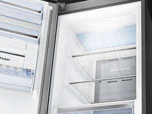 Samsung - Congelador Twin Independiente RZ32M7135S9 Inox 315L ...