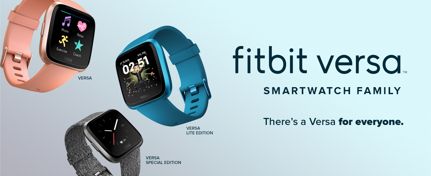Fitbit Versa Smart watch Fitness smartwatch