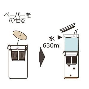 ハリオ HARIO はりお  コーヒー 珈琲 水だし 滴下式