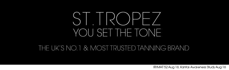 St.Tropez Il marchio di abbronzatura più affidabile del Regno Unito.