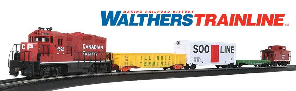 Walthers Trainline Pauls Pizzeria Train