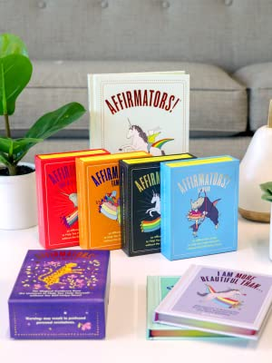 Affirmators series of affirmation card decks, Tarot, Journal and Books!