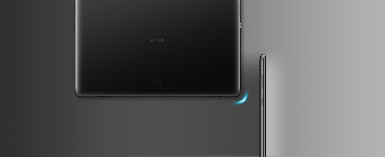 "Huawei Mediapad T5 Tablet, Display da 10.1"", 1080p full hd, 64 GB Espandibili, 4 GB RAM, Android 8.0 EMUI 8.0 OS, Wi-Fi, Nero"