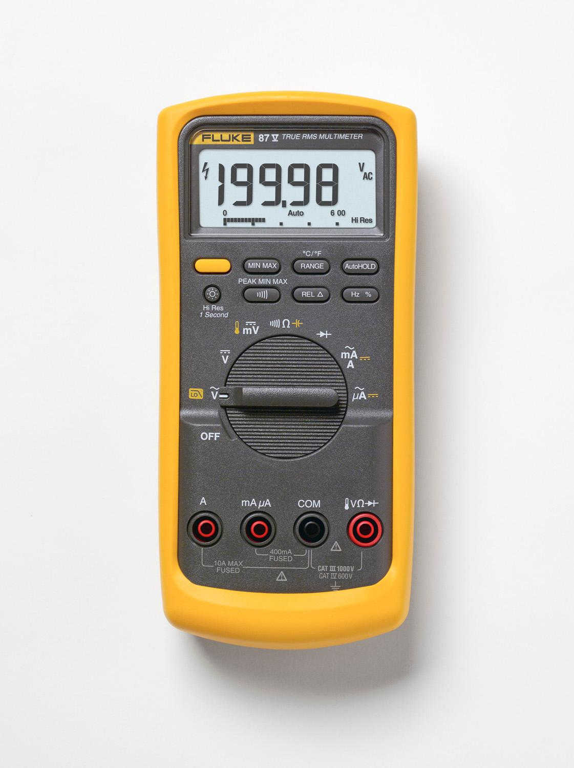 Fluke Digital Voltmeter : Fluke v digital multimeter amazon