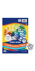 Tru-Ray Color Wheel Assorted Paper