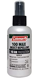 100% Deet Pump by Coleman Insect Repellents