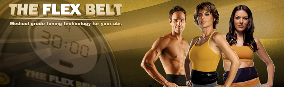 The Flex Belt Abdominal Muscle Toner