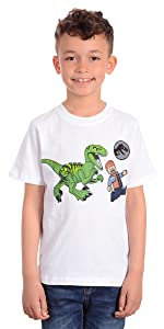 Lego Jurassic World World Feed Your Pets T-shirt