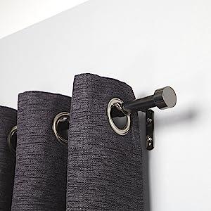 Amazon Com Umbra Cappa Curtain Rod 1 Inch Drapery Rod