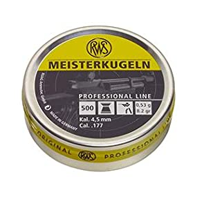 rws meisterkugeln 177 caliber pellets competition 8 2g 500 count airsoft. Black Bedroom Furniture Sets. Home Design Ideas