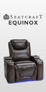 Amazon Com Seatcraft Equinox Leather Power Recliner With