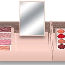 makeup;healthy makeup;skincare;cream makeup;highlighter;bronzer;blush;eyeshadow;lip gloss;lipstick
