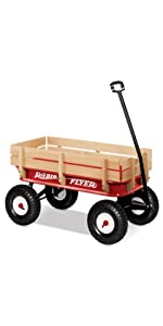 Radio Flyer All Terrain Steel and Wood