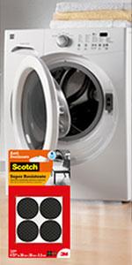 3M Scotch, Protetor Desliza Fácil , PTFE, poderoso adesivo, contra riscos e arranhões.