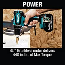 power bl brushless motor delivers inch pounds of max troque maximum