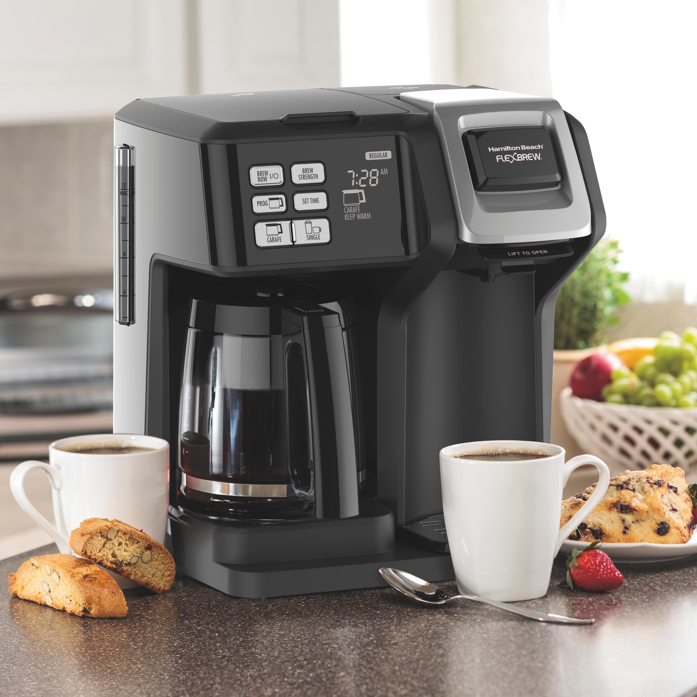 Amazon.com: Hamilton Beach (49976) Coffee Maker, Single ...