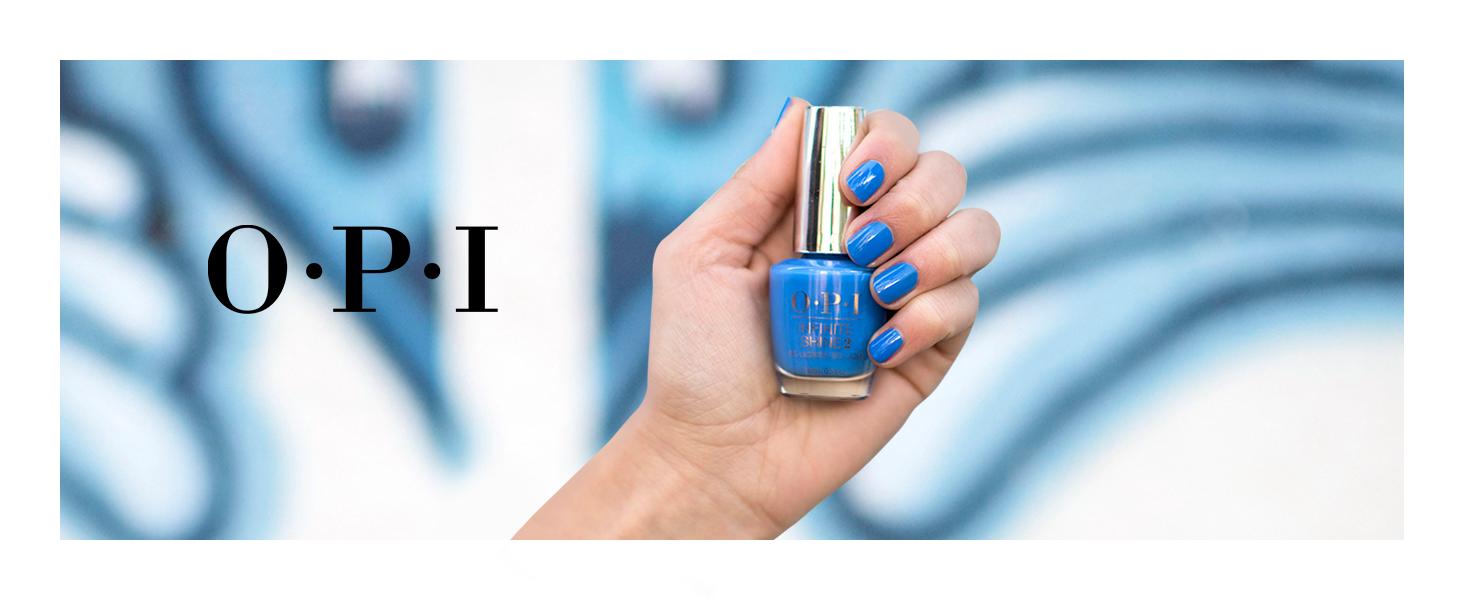 OPI Infinite Shine Nail Polish, Blue Nail Polish