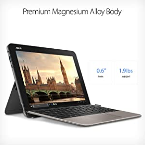 "ASUS 10.1"" Transformer Mini T103HA-D4-GR, 2 in 1 Touchscreen Laptop with Stylus detachable keyboard"