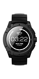Amazon.com: Matrix BlackOps Watch, Body Heat Powered Fitness ...