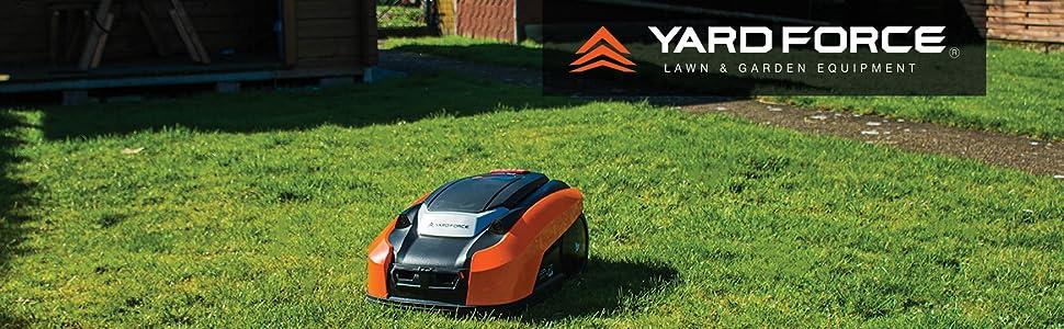 Yard Force uus robotniiduk LUV600Ri iRadari ultrahelianduri, vihmasensori ja rakenduse juhtimisega