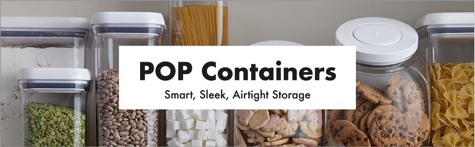 Amazon Com Oxo Good Grips 5 Piece Airtight Pop Container