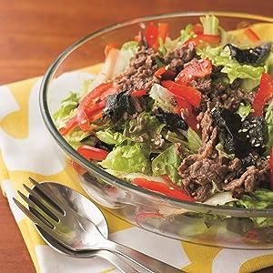 焼き肉 サラダ 炒める 楽 ラク 牛肉 豚肉 鶏肉 タンパク質 たんぱく質 焼くだけ