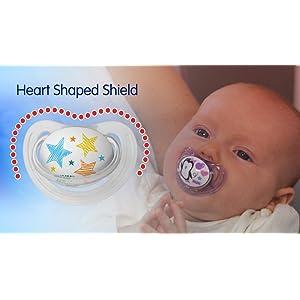 Amazon.com: NUK - Chupete de ortodoncia para recién nacido ...