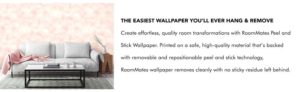 Roommates Cloud Peel And Stick Wallpaper Amazon Com