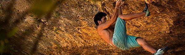 Jeanstrack Montes Pantalón de Escalada-Trekking, Hombre