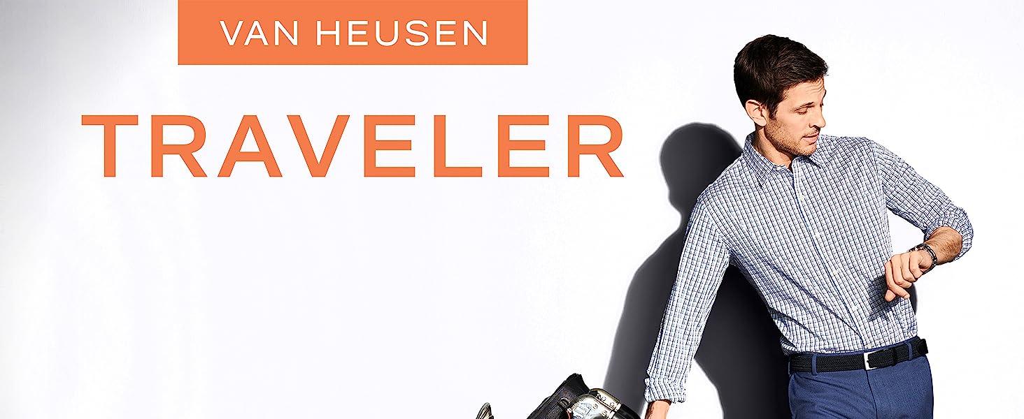 Van Heusen Traveler Shirt, Work Shirt