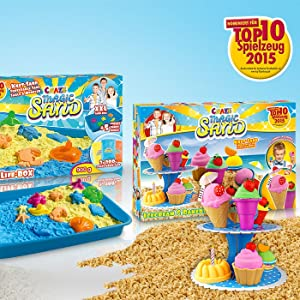 Craze awards presie won top product kneading sand best on the market play sand.