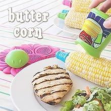butter boy, butter corn, corn on the cob, bbq corn butterer