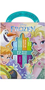 Frozen My First Library Board Book Block 12-Book Set