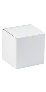 """9 x 9 x 9"""" White Gift Boxes"""