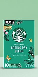 Starbucks Spring Day Blend K-Cup