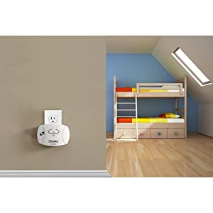 The carbon monoxide detector can be placed almost anywhere