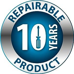 10 lat naprawialności