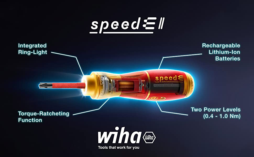The Wiha Insulated speede II electric screwdriver is stronger and more versatile than before.