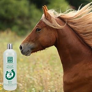 MENFORSAN Champú de Biotina para caballos - 1 Litro