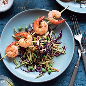 Curried Shrimp Kebabs