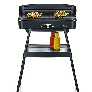 Cloer Barbecue-Grill Elektrogrill mit Standfuß 6750 2000 Watt NEU B-Ware